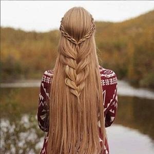 آموزش بافت مو دخترانه