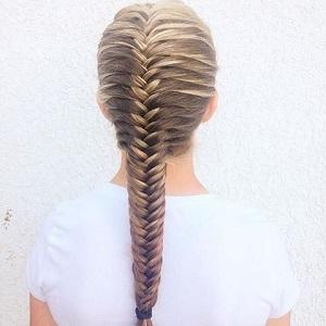 فیلم آموزش بافت موی تیغ ماهی برای پشت سر