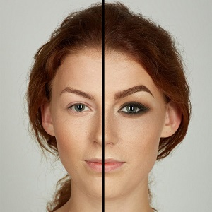 فیلم آموزش درشت کردن چشم با آرایش