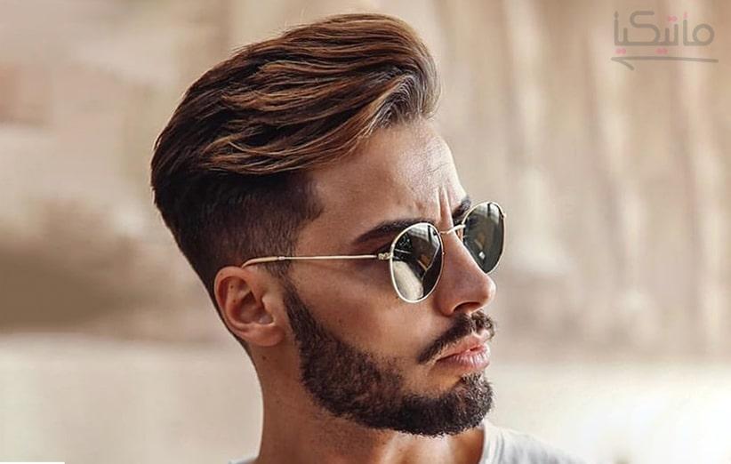 مدل موی مردانه خامه ای و زیبا