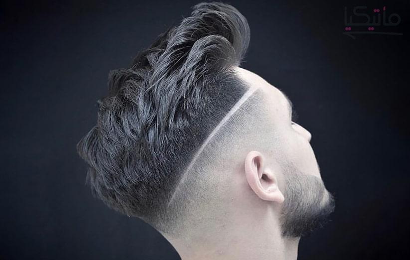 مدل موی برش بی نظم