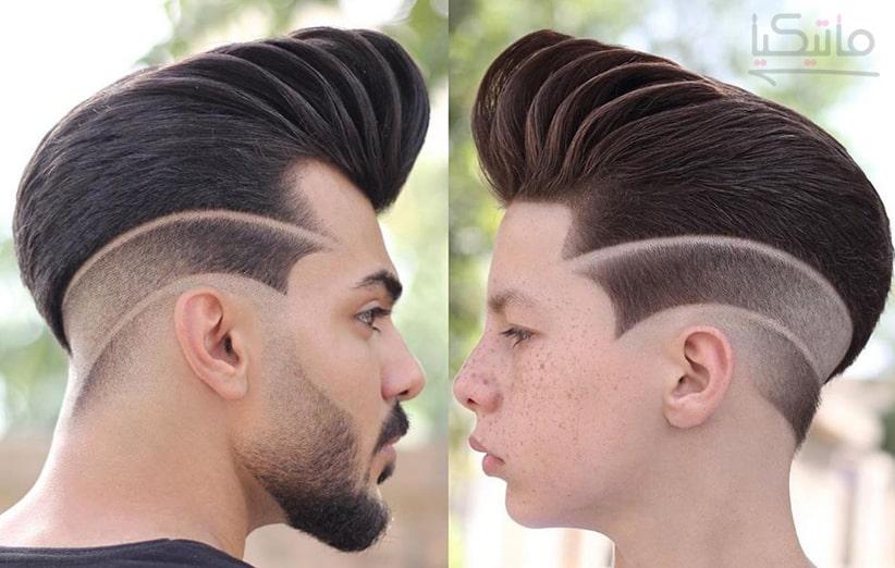 مدل موی جذاب مردانه و دور کوتاه