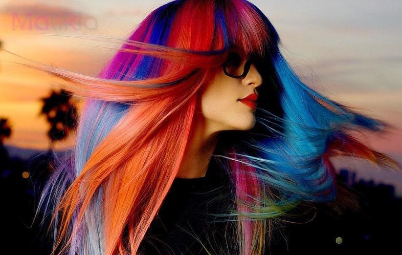 انواع رنگ و مش