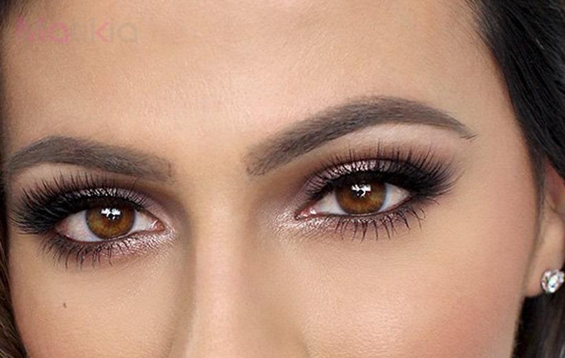 رنگ های مناسب چشم قهوه ای