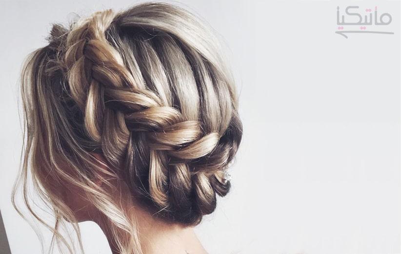 بافت مو زیبا دخترانه