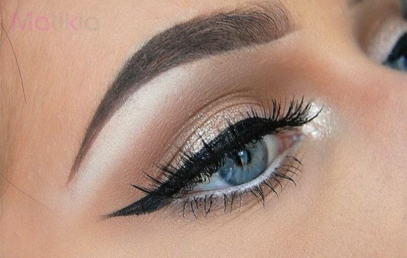 آموزش کشیدن خط چشم متناسب با فرم صورت