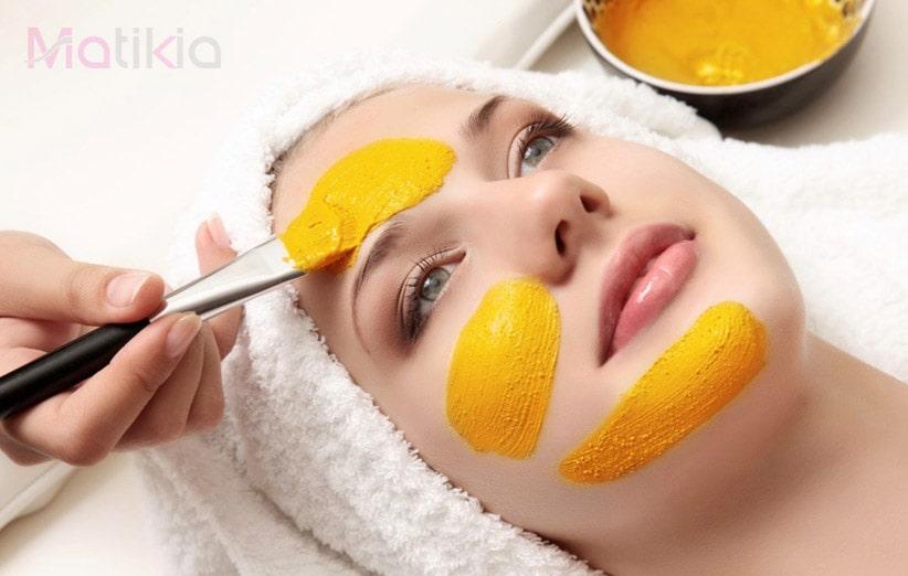 ماسک روشن شدن پوست