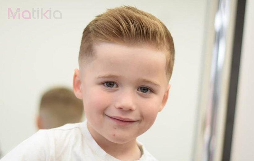 انواع مدل مو کوتاهی کودک