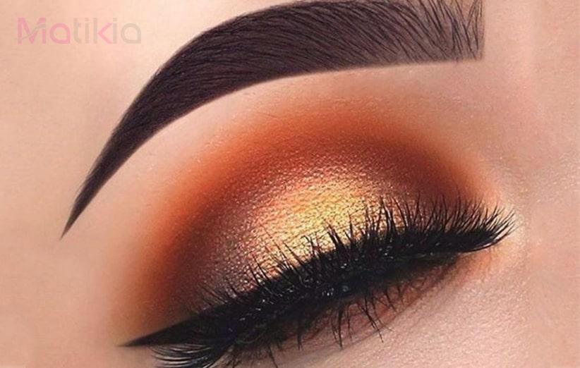 بهترین آرایش چشم قهوه ای