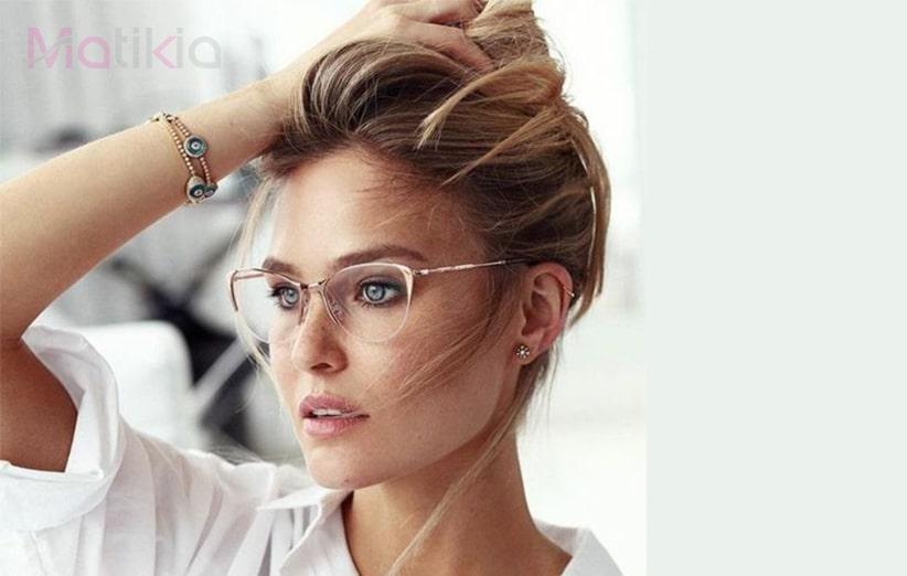 عینک و فرم صورت