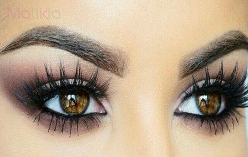 نکات آرایشی چشم قهوه ای