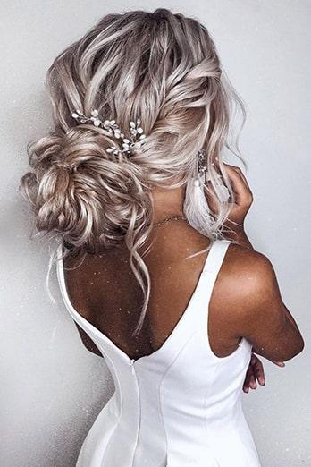 شینیون رنگ موی آمبره