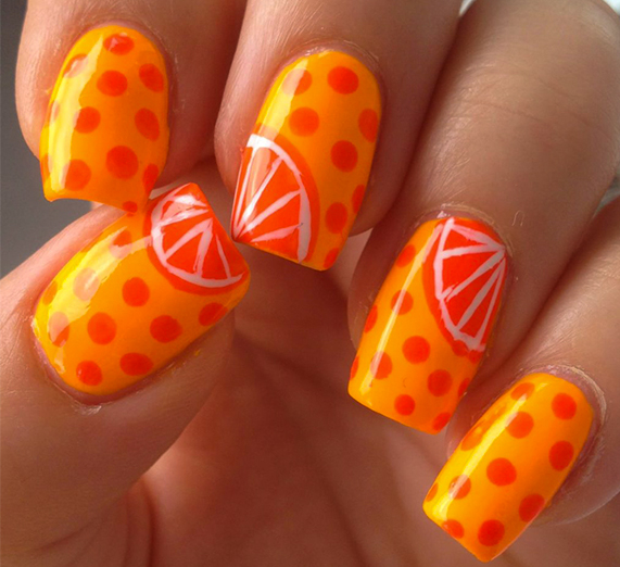 لاک نارنجی