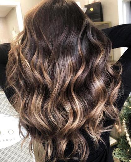 رنگ موی آمبره دخترانه