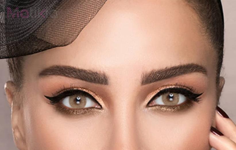 تناسب لنز چشم با رنگ پوست