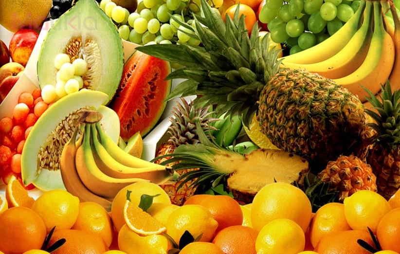 ماسک میوه برای برجسته کردن گونه