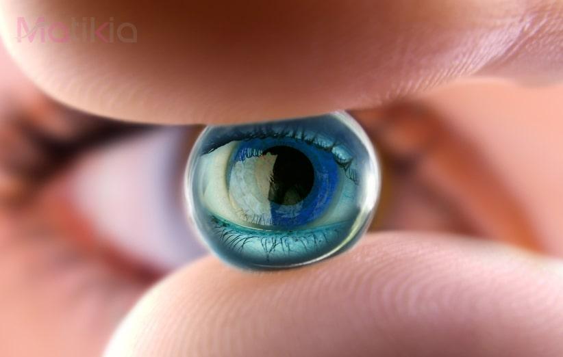 مضرات لنز چشم