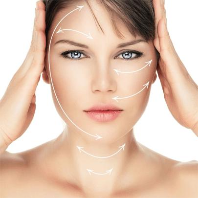 ماساژ اصولی صورت برای جلوگیری از پوست صورت