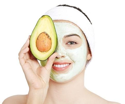 ماسک آووکادو برای پوست حساس