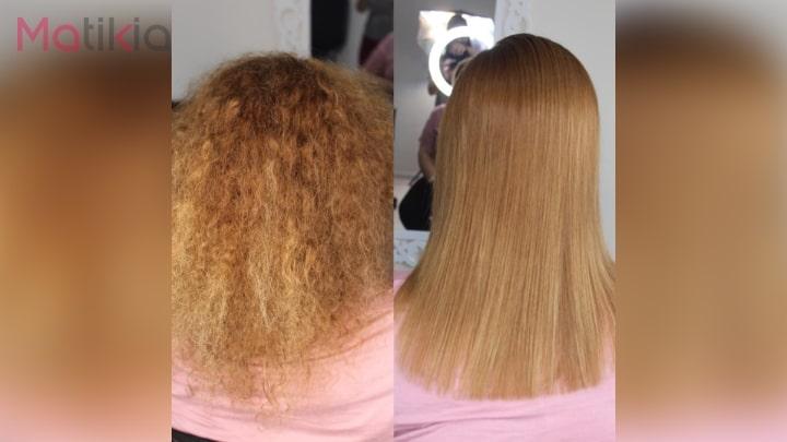 آموزش پروتئینه کردن مو