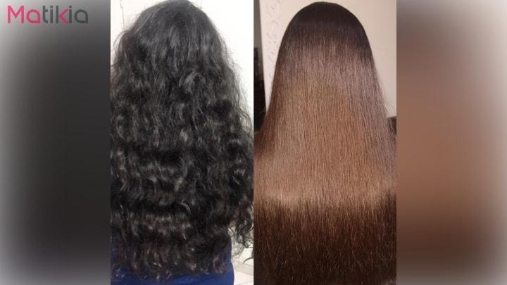 آموزش کراتینه کردن موها